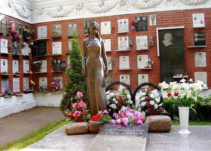 Могила Раисы Максимовны Горбачевой. / Фото: ru.esosedi.org