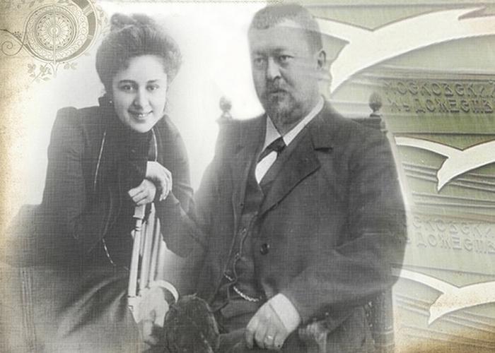 Савва Морозов и Мария Андреева. / Фото: playcast.ru