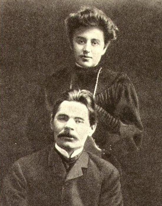 Максим Горький и Мария Андреева в счастливые дни любви. / Фото: s-clemens.ru