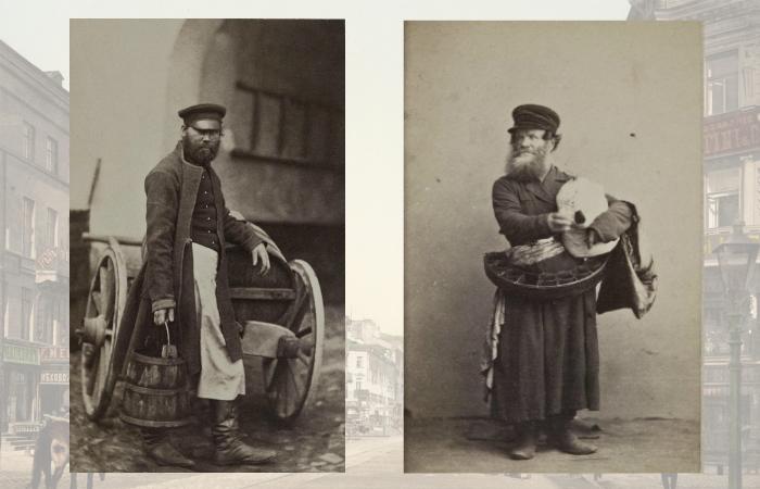 Простые горожане конца 19-го века.