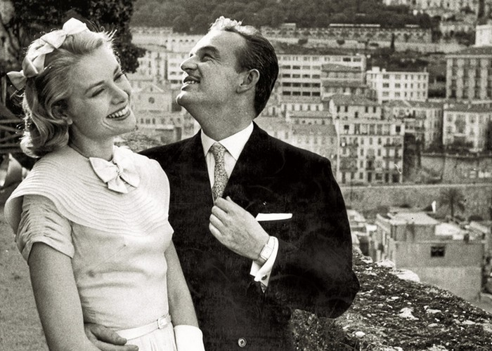 Грейс Келли и Ренье III: любовь с первого взгляда. / Фото: spletnik.ru