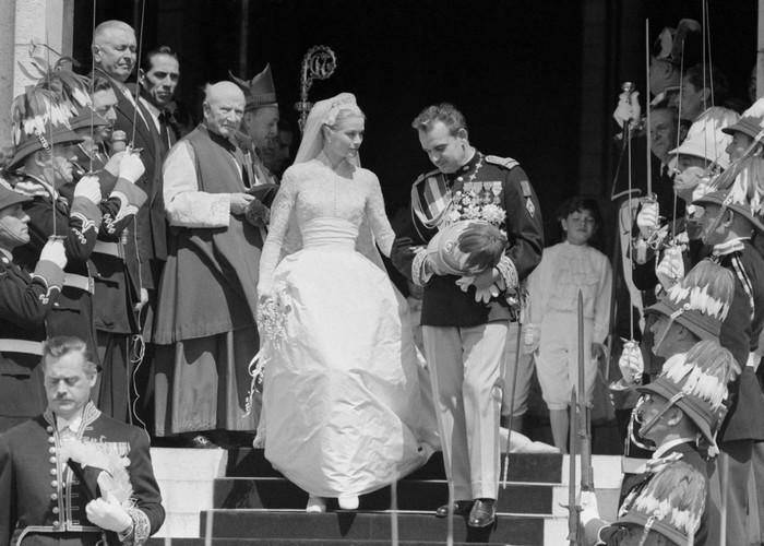 Свадьба Грейс Келли и Ренье III. / Фото: polonsil.ru