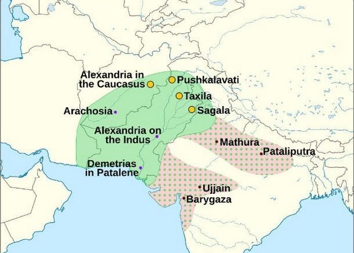 Расцвет Кушанской империи.