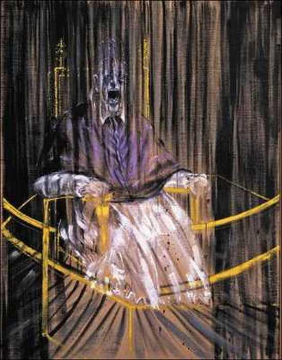 Исследование портрета Иннокентия X работы Веласкеса.