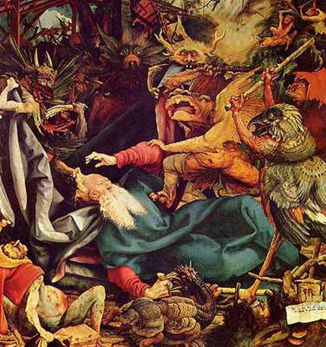 Искушение святого Антония.