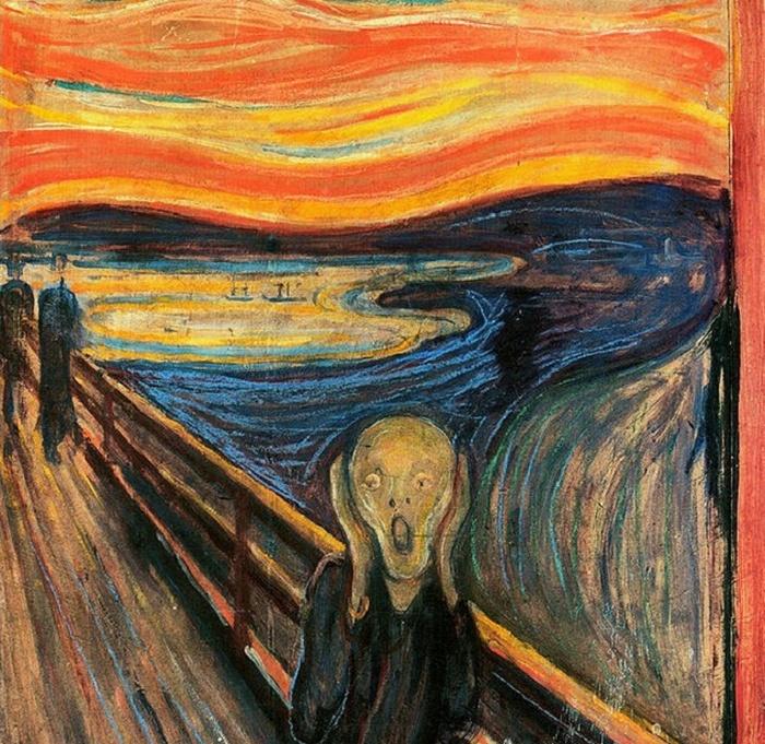 Вдохновение для картины «Крик».