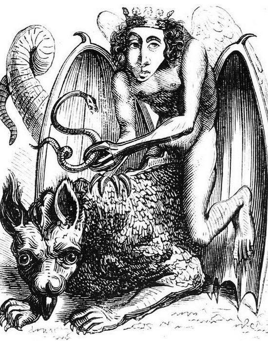 Мюнхенское руководство по демонической магии. / Фото: oddee.com