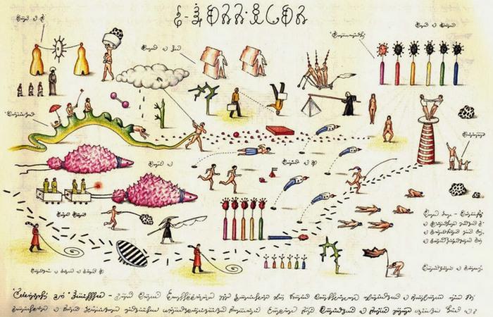 Codex Seraphinianus. / Фото: webmiastoto.com