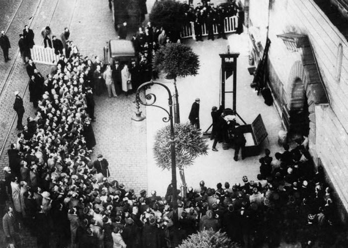 Последняя казнь во Франции.