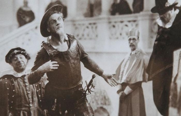 Федор Шаляпин в роли Дон Кихота./фото: bashinform.ru