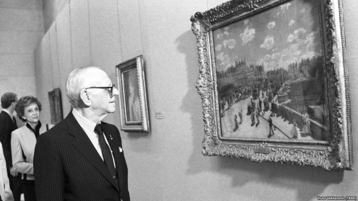 Арманд Хаммер , 1986 год