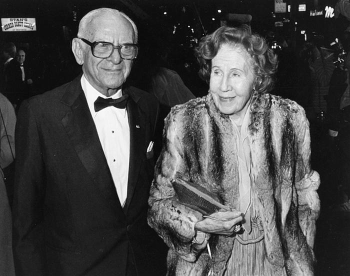 Арманд Хаммер с супругой.