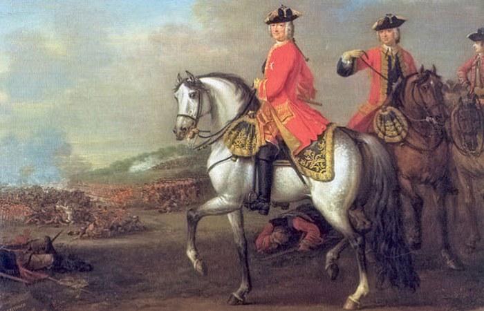 Сердечный приступ Георга II.