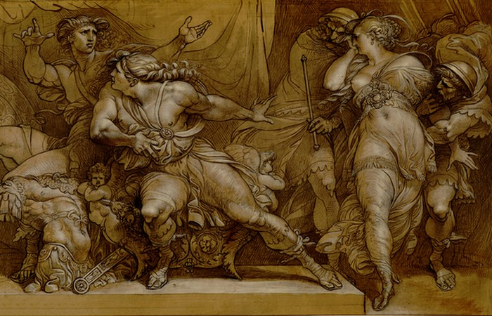Убийство Агамемнона.