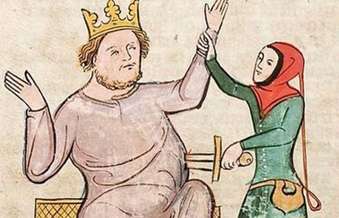 Смерть библейского царя Еглона.