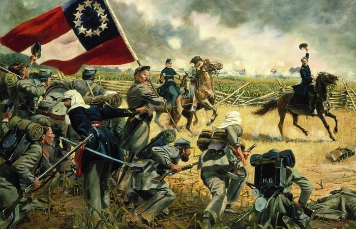 Гражданская война в США. | Фото: toddrhoades.com