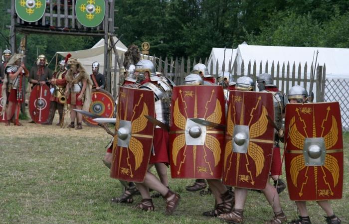 Малоизвестная тайна: потерянный римский легион.