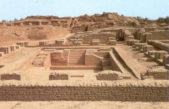 Древняя цивилизация долины инда является старейшей известной цивилизацией
