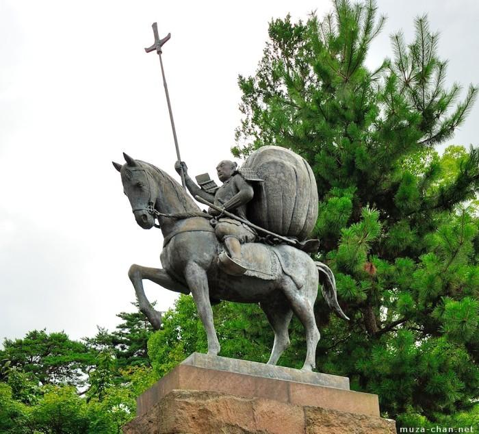 Cтатуя Маэда Тосииэ, Канадзава