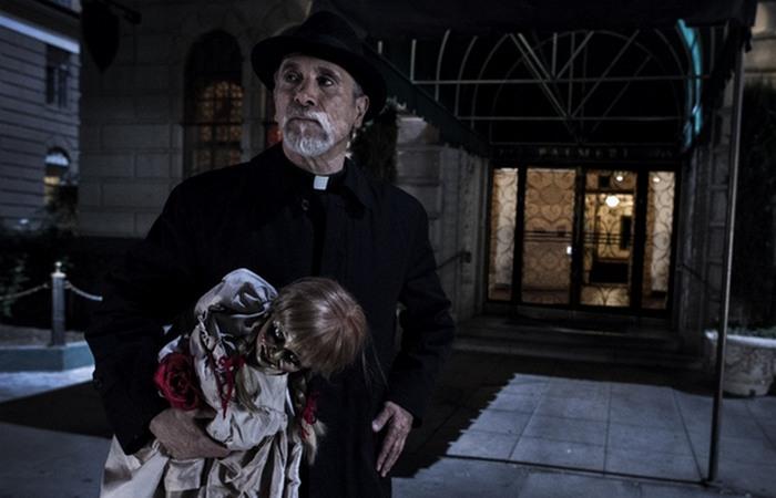 Фильм ужасов: Проклятие Аннабель.