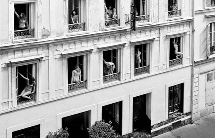 Дом терпимости. Париж.