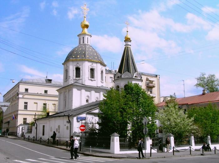 Храм Вознесения Господня на Большой Никитской.