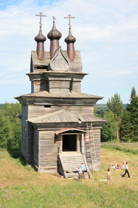 Храм великомученика Георгия Победоносца, cело Пермогорье, 1665 г/