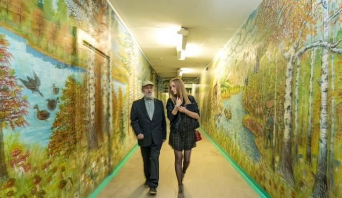 Школа, которая стала картинной галереей.
