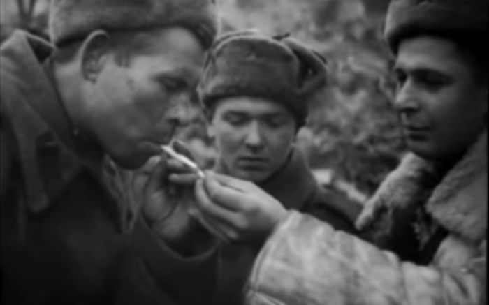 «Песня о моем старшине»: Владимир Высоцкий поёт о войне.
