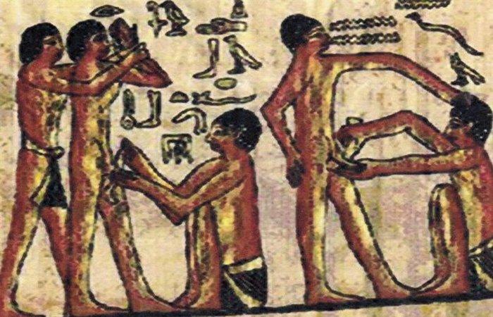Обрезание в Древнем Египте. / Фото: listverse.com