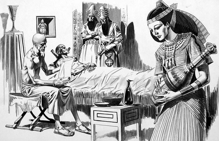 Гигиена в Древнем Египте: профилактическая медицина./фото: bookpalace.com
