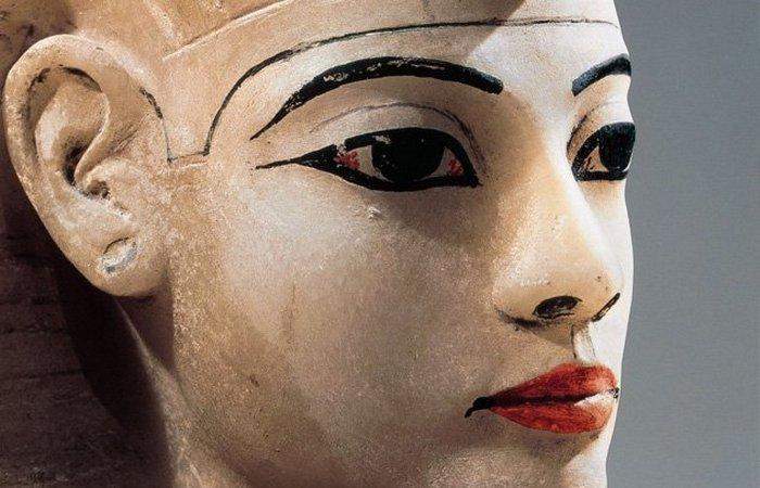 Гигиена в Древнем Египте: макияж глаз./фото: listverse.com