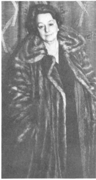 Елена Булгакова-Нюренберг. 1961 год.