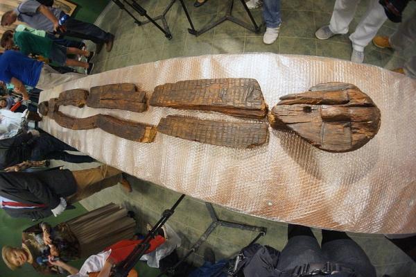 Шигирский идол - самая древняя деревянная скульптура.