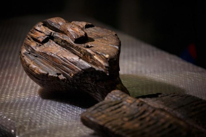 Шигирский идол, найденный в Сибири 125 лет назад.
