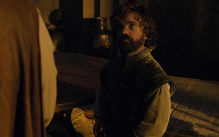 Питер Динклэйдж в роли Тириона Ланнистера.