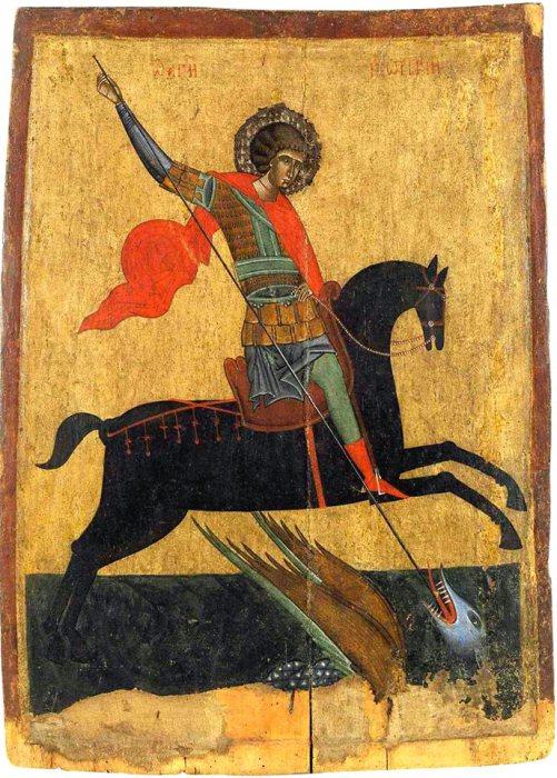 Георгий Победоносец. XIV век.