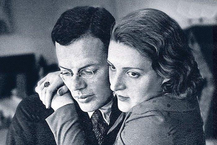 Илья Ильф и Маруся Тарасенко. / Фото: www.fenixclub.com