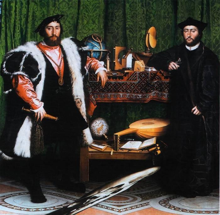 Жан де Дентевилль и Жорж де Сельв.