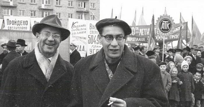 Валерий Фрид и Юлий Дунский: Творческий тандем длиною в жизнь…