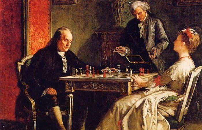 Невозможно поверить: Бенджамин Франклин пытался соблазнить жену друга.
