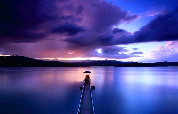Закат на Аййянкере.