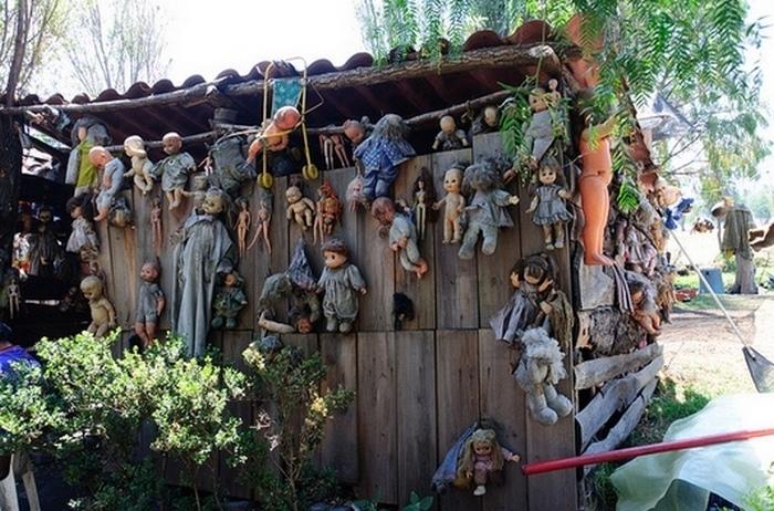 В районе Сочимилько...