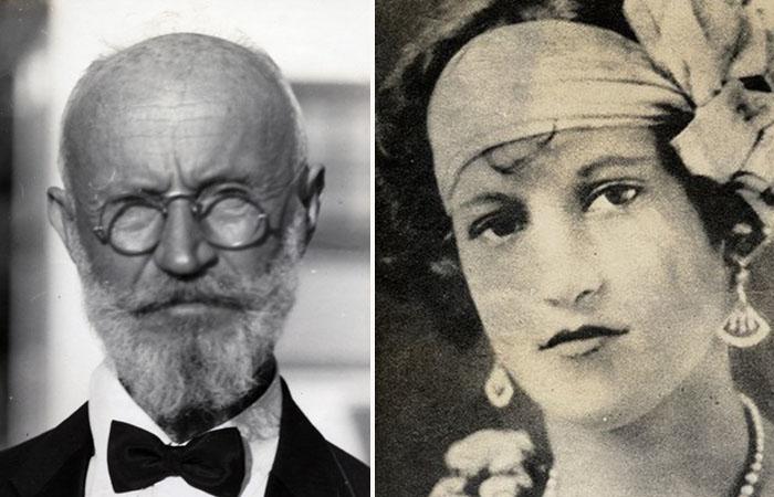 <br>Карл Танцлер фон Козель  и Мария Элена «Хелен» Милагро.
