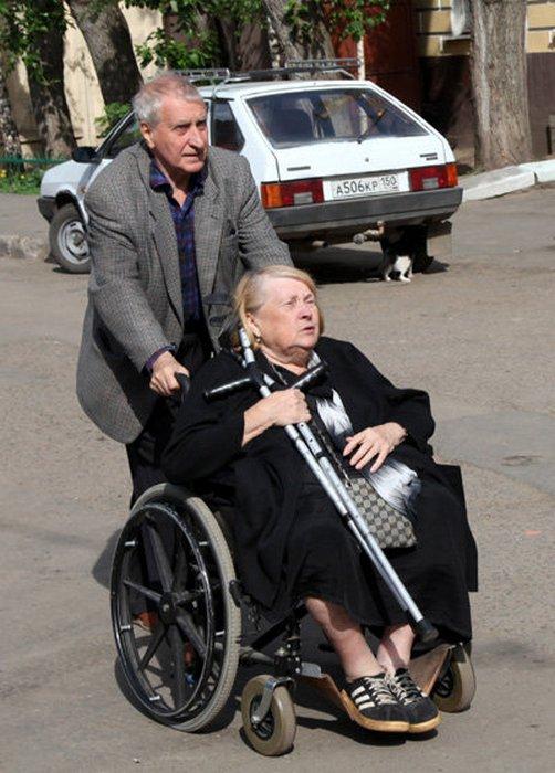 Людмила Иванова с мужем Валерием Митяевым.
