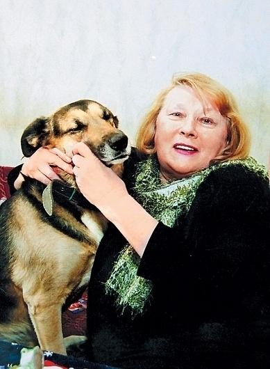 Людмила Иванова и её Кузя.