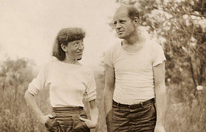 Ли Краснер просто боготворила Поллока. / Фото: mycoolimages.com