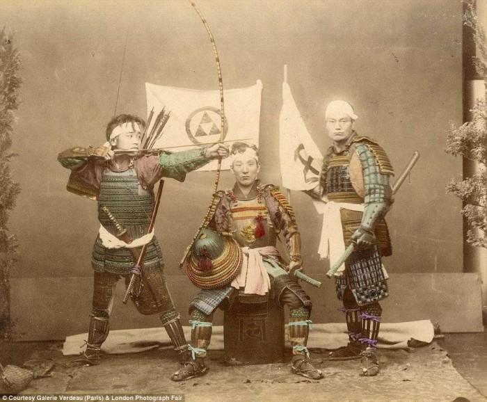 Японские самураи.