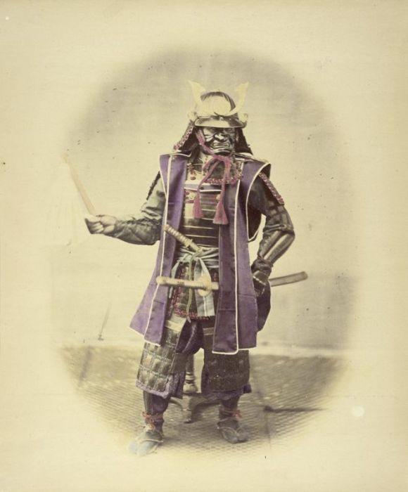 Японский самурай.