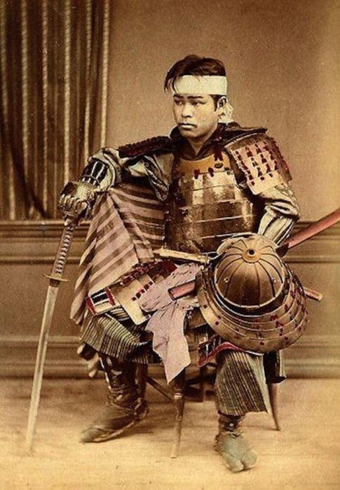 Японский воин.
